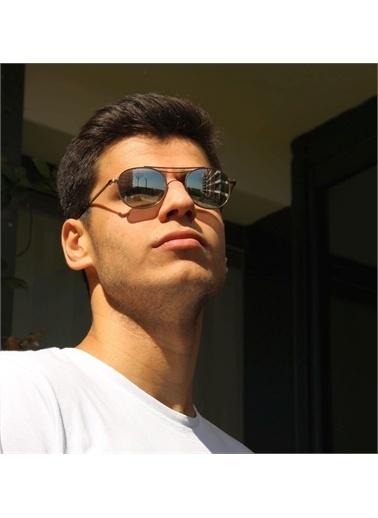Ermenegildo Zegna  Ez 0104 35V Unısex Güneş Gözlüğü Füme